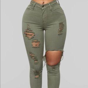 FASION NOVA Glistening Jeans